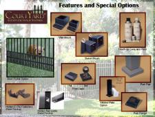 Courtyard Aluminum Accessories