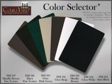 Courtyard Aluminum Color Choices