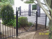 Courtyard Arched Gates To Match Any Style