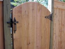 Cedar Cap and Trim Privacy Fence