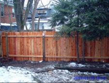 Cedar Dog Ear 1x6x6 Privacy Fence