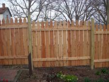 Cedar French Gothic 1x6x6 Privacy