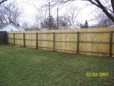 Pressure Treated 1x6x6 Dog Ear Privacy fence