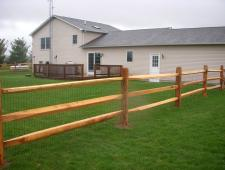 campitelli 3 rail split rail fence 004