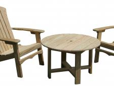 Adirondack and Conv. Table
