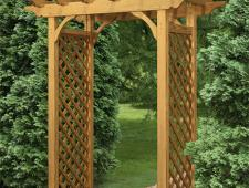 Colonial Straight Top Arbor A10